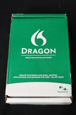NIB Dragon NaturallySpeaking Home 11.5 w/Serial Number Stereo Headset Video