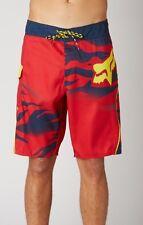 FOX Vicious Fade Boardshort - Red - Size 38