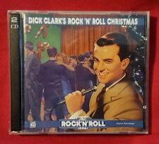 Time Life DICK CLARK'S ROCK 'N ROLL CHRISTMAS 2 CD Set 40 Classics 1997 Rare OOP