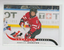 09/10 OPC Team Canada Rebecca Johnston Canadian Heroes card #CB-RJ