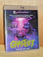 Ghastlies (Blu-ray/DVD, 2017) NEW tiny critters crash the party classic horror