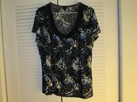 Women's East 5th Multicolor blouse size XL top