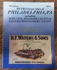 Main Line, Delaware & Montgomery Counties PA Franklin Map Street Atlas