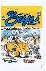 All New Zap Comix #1 Uncut Cover Proof 3rd Print Robert Crumb Underground Rare