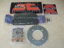 JT 100 Link 420 HDR Chain + 15T + 32T Rear Sprocket Kit Yamaha BW 80 Big Wheel