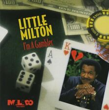 "USED CD Little Milton ""I'm A Gambler"" Music CD 1994 Blues Music"
