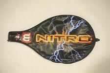 Vintage Wilson Nitro Tennis Racket Zippered Case Cover                     #2145
