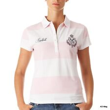 Polo Femme Rugby RUCKFIELD by Chabal D0000005 SC - Rose/Blanc - Taille L - NEUF
