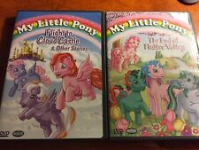 My Little Pony - Flight to Cloud Castle DVD Lot Of 2 The End Of Flutter Valley