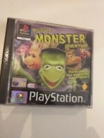 Ps1  Muppet MONSTER adventure    pal ESPAÑA( playstation 1) ( completo  )