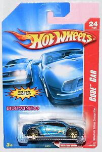 Hot Wheels 2007 Code Voiture Mitsubishi Eclipse Concept Voiture Bleu