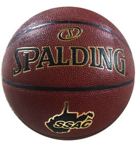 "Spalding TF-1000 SSAC Basketball 29.5"" NFHS Indoor Elite Play Composite Leather"