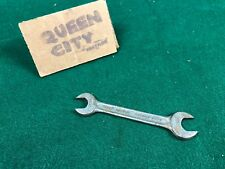 """Vintage Indestro 9/16 - 1/2"""" open end combination wrench 0725B"""