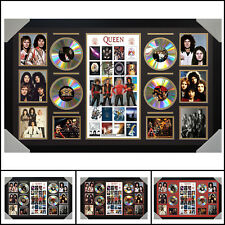 Queen 4CD Signed Framed Memorabilia LTD - Large - Multiple Variations