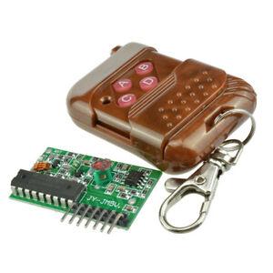 IC 2262/2272 4 CH Key 315/433MHZ Wireless Remote Control Receiver module BSG