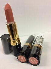 LOT OF 3 - Revlon Super Lustrous Matte Lipstick / Smoked Peach #013 / NEW SEALED