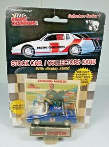 Racing Champions Sterling Marlin #94 Series 1 W/Stand Diecast NASCAR 1989