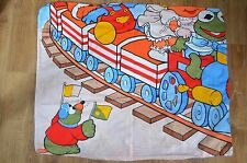 MUPPET BABIES Housse couette Flannel DUVET cover sheet bed VINTAGE