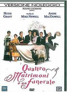 DVD - Quattro matrimoni e un funerale