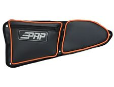 PRP Seats Polaris RZR XP 1000 S 900 Door Bag w/Knee Pad, ORANGE Piping LEFT Side