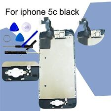 Black Replacement For iPhone 5C LCD&Touch Screen Digitizer &Home Button +Camera