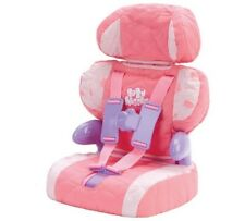Casdon Baby Huggles Doll Car Booster Seat Pink For Dolls Up To 46cm