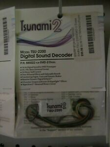 Soundtraxx Tsunami 2 EMD-2 TSU-2200  #885022    Bob The Train Guy