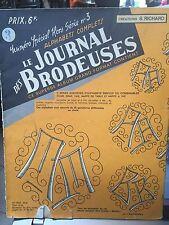 Le journal des brodeuses Hors série n°3 Alphabets complets S. Richard