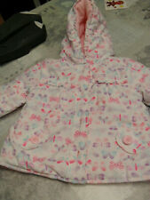 GIRLS comfy spring summer  COAT 9-12 MTHS