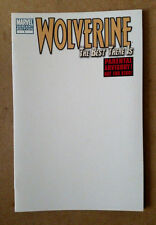 WOLVERINE BEST THERE IS #1 BLANK VARIANT 1ST PRINT MARVEL COMICS (2011) LOGAN
