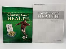 Abeka Choosing Good Health Student Book with Quizzes & Tests 6th Grade NEW