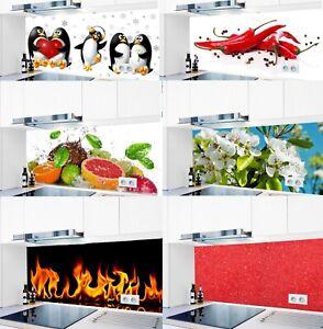 Küchenrückwand selbstklebend 1000 Motive Hart-PVC 0,4 mm Spritzschutz