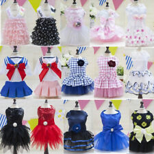Small Pet Puppy Dog Cat Lace Skirt Princess Tutu Dress Summer Clothes Apparel