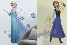 Disney Frozen Princess Elsa Anna Sisters Movie Wall Room 2 Decals Sticker Large