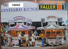 Faller H0 140453 2 Kirmesbuden #NEU in OVP##