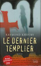 Livre le dernier templier Raymond  Khoury book idéal pour cadeau