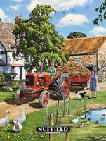 Trevor Mitchell Artwork Dangler - Nuffield Tractor Pond Scene