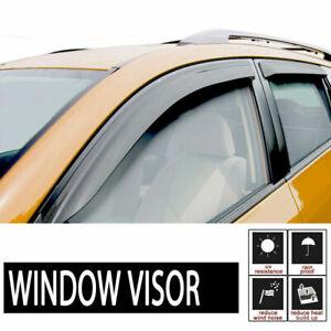 2pc Front Door Smoke Vent Shade Window Visor Fit Express/Savana/Kodiak/Topkick