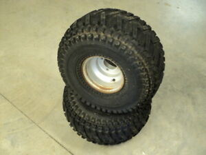 Yamaha Blaster YFS200 YFS 200 P #9523 Rear Wheels & Tires
