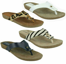 Animal Print Slip On Sandals & Flip Flops for Women