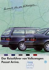 Prospekt VW Passat Arriva 10/92 brochure 1992 Autoprospekt Broschüre Auto PKWs