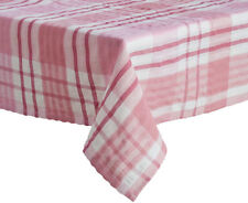 NEW 100% COTTON PLAIN GINGHAM CHECKED TABLE CLOTH MATERIAL FABRIC SEERSUCKER