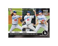 Dustin May / Victor González / Blake Treinen - MLB TOPPS NOW Card 476