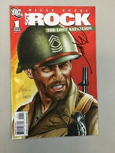Sgt. Rock 1 The Lost Battalion signed By Billy Tucci DC comics 2009 (SR01)