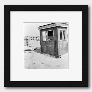 'Up the Rockers and Mods' in a Margate Hut in Kent England 1964 Print