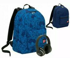 SEVEN THE DOUBLE CROWDY BLUEE DEEP ZAINO REVERSIBLE +CUFFIE STEREO NEW 2019-20