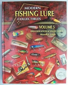 Fishing Lure Collector's Price Guide Book Plus Special Heddon Lures