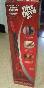 Dirt Devil 3 in 1 Versa Clean Bagless Stick Vacuum Cleaner - new model Versa
