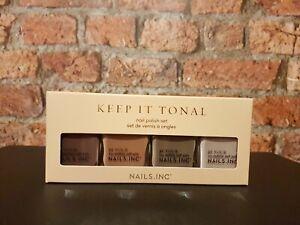 Nails Inc Nail Polish Du Keep It Tonal Collection(1 X 4 X 14ml) .