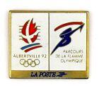 PINS SPORT JO JEUX OLYMPIQUES ALBERTVILLE 1992 LA POSTE